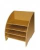 Подставка для хранения бумаги, МДФ, 225х240х240мм